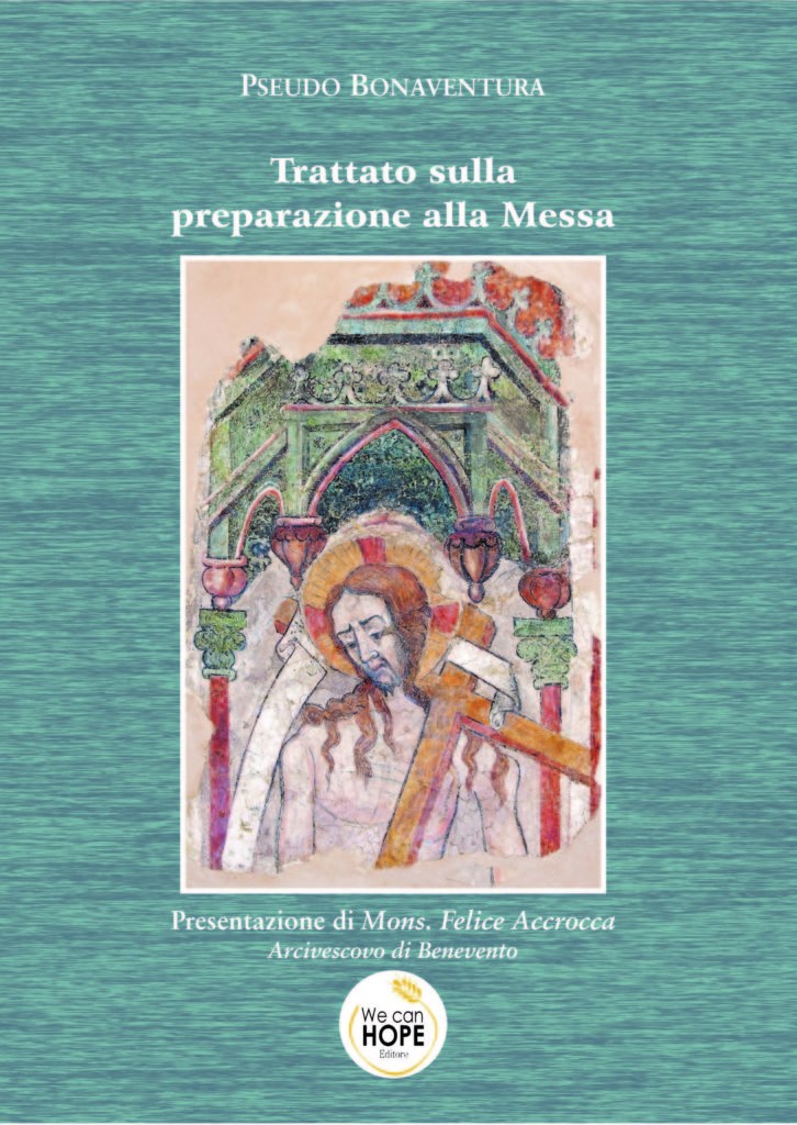 """Book Cover: """"TRATTATO SULLA PREPARAZIONE ALLA MESSA"""". Autore Pseudo Bonaventura"""