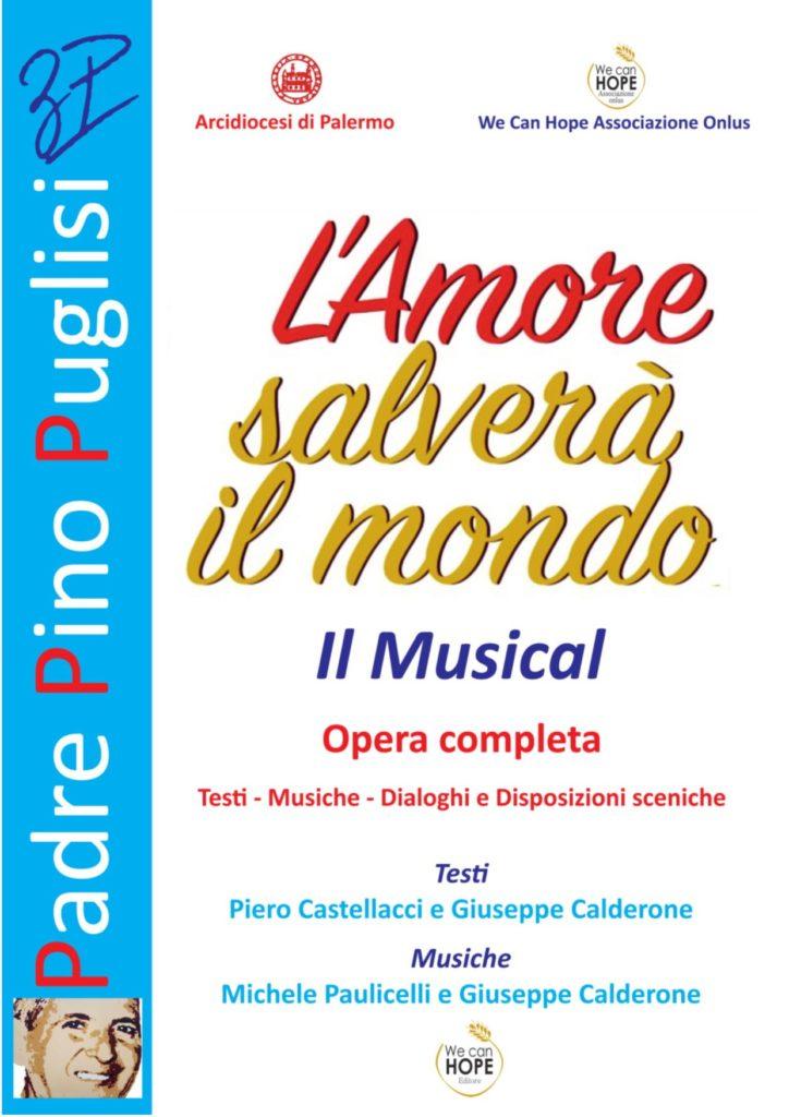 Book Cover: COPIONE Padre Pino Puglisi. Il Musical. L'Amore salverà il mondo